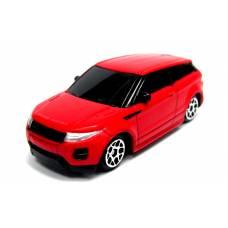 Металлическая машина Range Rover Evoque, матовая красная, 1:64 RMZ City