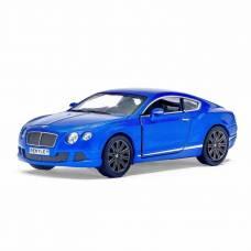 Машина металлическая Bentley Continental GT Speed, масштаб 1:38, открываются двери, инерция Kinsmart