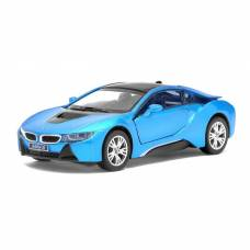 Машина металлическая BMW i8, масштаб 1:36, открываются двери, инерция Kinsmart