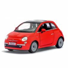 Машина металлическая Fiat 500, масштаб 1:28, открываются двери, инерция Kinsmart