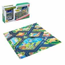 Игровой набор «Городская полиция», игровое поле (р-р 68 х 78 см) + 3 машины Sima-Land