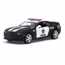 Машина металлическая Chevrolet Camaro (Police), масштаб 1:38, открываются двери, инерция Kinsmart