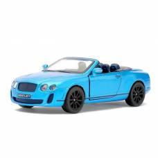 Машина металлическая Bentley Continental Supersports Convertible, масштаб 1:38, открываются двери, инерция Kinsmart