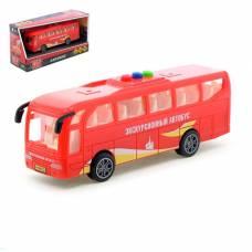 Автобус инерционный, световые и звуковые эффекты, 17 см Технопарк