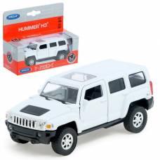 Машина Hummer H3, открывающиеся двери, масштаб 1:34-39 Welly