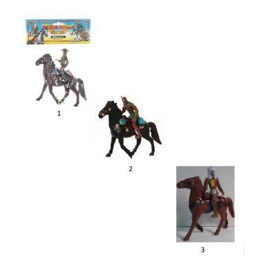 Фигурка всадника Brave - Индейц / Ковбой