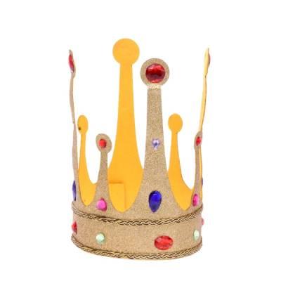 Корона на липучке с камушками Страна Карнавалия