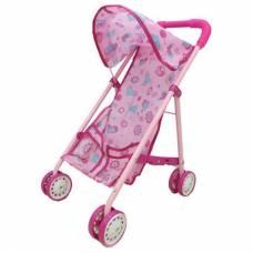 Кукольная коляска-трость со складной крышей  Yako Toys