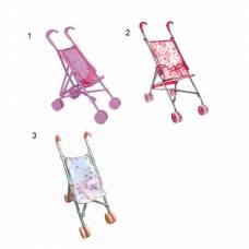 Металлическая коляска-трость для кукол Melogo
