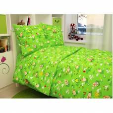 Постельное белье Baby - Овечки, зеленое Атра