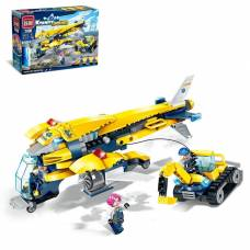 Конструктор «Грузовой самолёт», 283 деталей Winner Bricks