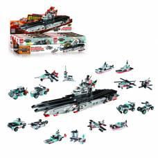 Конструктор «Военная зона: Боевой транспорт», 8 видов Winner Bricks