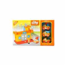 Игровой трек-конструктор City Engineering Series, 51 дет. Shenzhen Toys