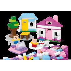 Конструктор Kiddy Bricks - Дом с фигурками Sluban