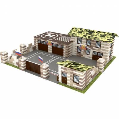 Конструктор из кирпичиков Brick Style - Военная база, 800 деталей Каррас