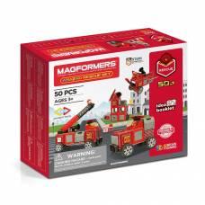 Магнитный конструктор Amazing Rescue, 50 деталей Magformers