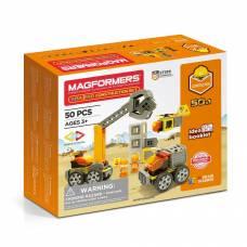 Магнитный конструктор Amazing Construction, 50 деталей Magformers
