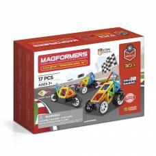Магнитный конструктор Amazing Transform Wheel Set Magformers