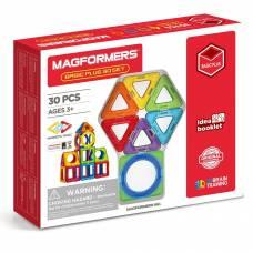 Магнитный конструктор Basic Plus, 30 деталей Magformers