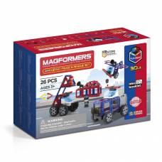 Магнитный конструктор Amazing Police & Rescue Set Magformers