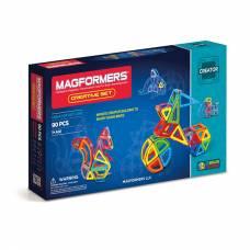 Магнитный конструктор Creative, 90 деталей Magformers