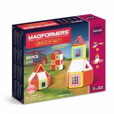 Магнитный конструктор Build Up Set - Дом, 50 деталей Magformers