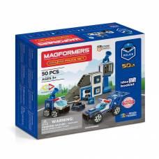Магнитный конструктор Amazing Police, 50 деталей Magformers