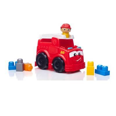 Конструктор First Builders - Пожарная машина Фредди Mega Construx / Mega Bloks