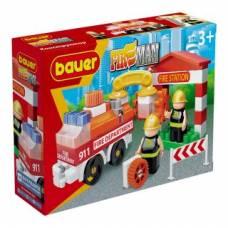 Констр-р Fireman Пожарная машина и пожарный гидрант, 58 эл Bauer