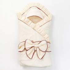 Набор для новорождённого «Империал», цвет шампань/шоколад (3 пред) Мое