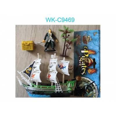 Корабль пиратский Junfa Toys