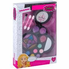 Набор детской декоративной косметики Eva Moda - Круглая косметичка с зеркалом Bondibon