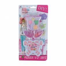Набор для девочек Цветок ( 5 теней для век, 12 накладных ногтей, 1 пилка) YSJ