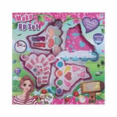 Набор для девочек Ролики ( 7 блеск для губ, 3 аппликатора, 1 пилка, 12 накладных ногтей, 6 т   37507 YSJ