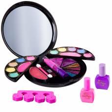 Набор декоративной косметики Eva Moda - Шкатулка с зеркалом, 2 уровня Bondibon