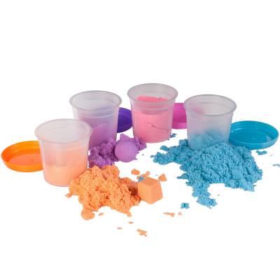 Марсианский песок, 4 цвета, 400 гр. Bondibon