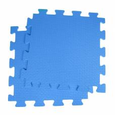 Детский коврик-пазл, 1 × 1 м, синий Жанетт