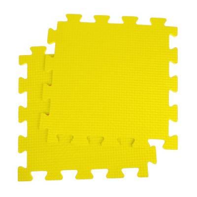 Детский коврик-пазл, 1 × 1 м, жёлтый Жанетт