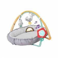 Музыкальный развивающий коврик с мягкими бортами (свет), 100 х 80 см Taf Toys
