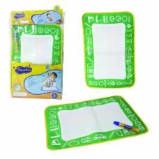 Коврик для рисования AquaArt с водным маркером, зеленый, 30 х 45 см 1TOY