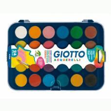 Сухая акварель Colour Blocks в таблетках, 24 цвета Giotto