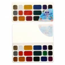 Акварель «Луч Престиж», 18 цветов, в пластиковой коробке, без кисти Луч