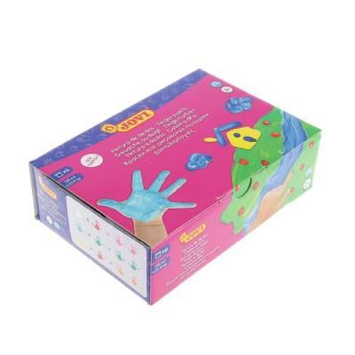 Краски пальчиковые набор 6 цветов по 125 мл, JOVI Jovi
