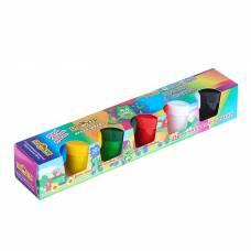 Краски пальчиковые набор 6цв*40мл Спектр 240мл Яркая забава (от 3-х лет) 06С-502 Спектр