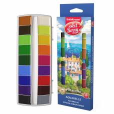 Акварельные краски ArtBerry - Премиум, 18 цветов Erich Krause