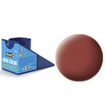 Аква-краска Revell - Каменно-красная, матовая, 18 мл Revell