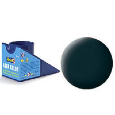 Аква-краска Revell - Антрацит, матовая, 18 мл Revell