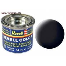 Глянцевая матовая краска Revel Color, черная Revell