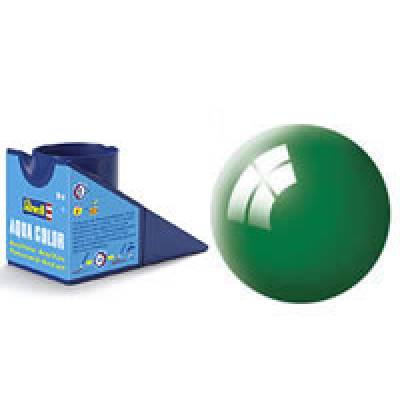 Аква-краска Revell - Изумрудно-зеленая, глянцевая, 18 мл Revell