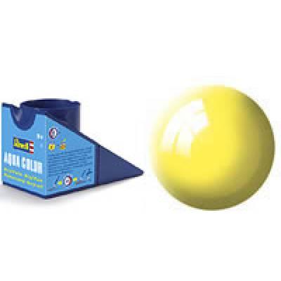 Аква-краска Revell - Желтая, глянцевая, 18 мл Revell